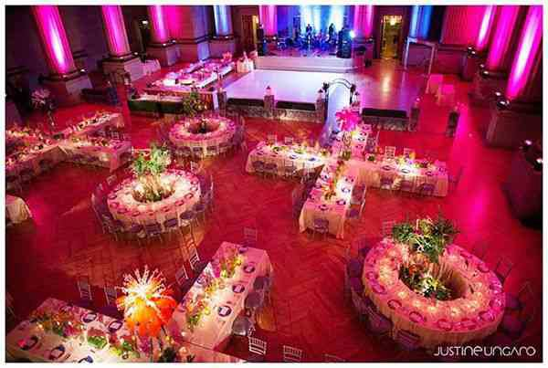 Pro's And Con's To Your Wedding Reception Table Layout