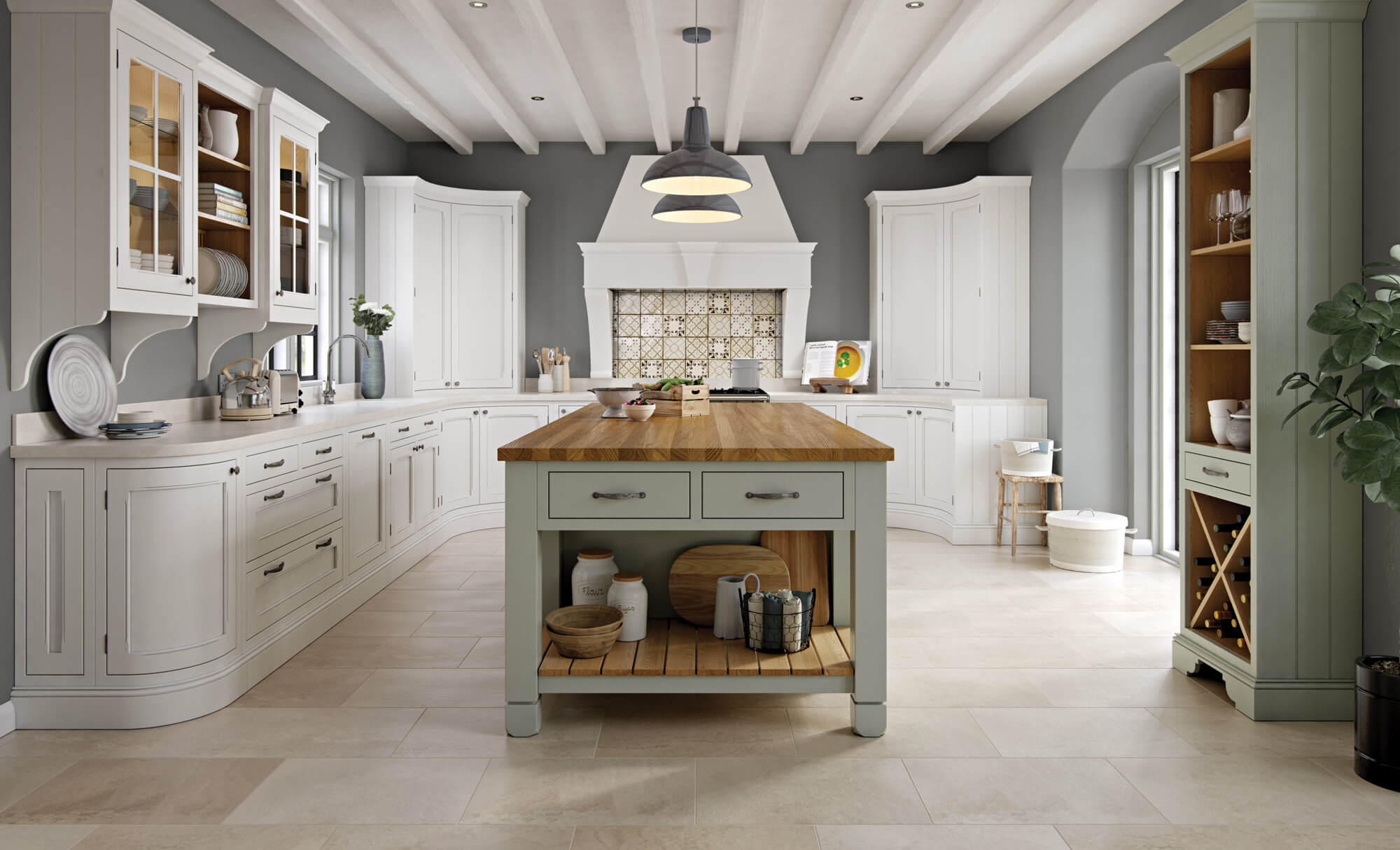 Hawkesbury Kitchens Aisling Artisan Furniture