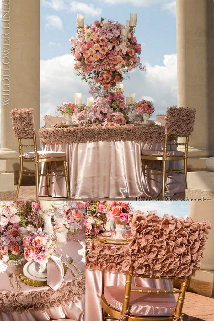 elegant chair covers and wedding decor fishing hardware luxury linens from wildflower - aislinn events