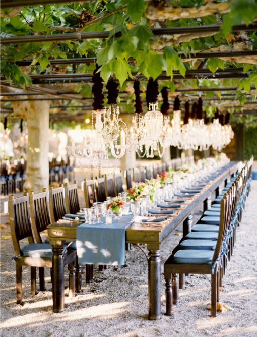 Luxurious Orchid Fl Decor Idea For Wedding Reception Tabletop