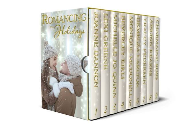 romancing the holidays cover