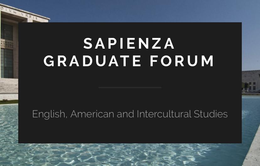 15/01/2020 – CFP: Graduate Forum Sapienza