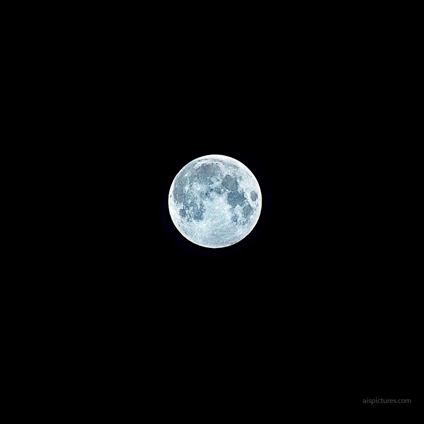 full moon on EOS R