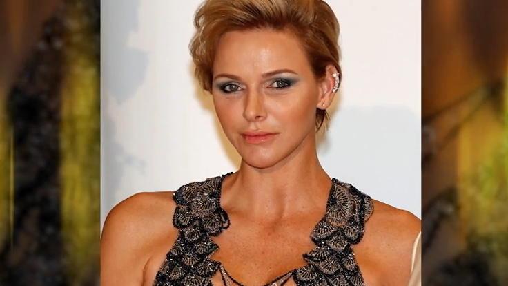 Mega Dekollete Furstin Charlene Von Monaco Ist Der Hingucker Beim