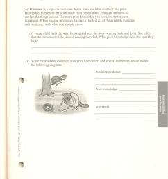 Observation Inference Prediction Worksheet - Promotiontablecovers [ 3510 x 2550 Pixel ]
