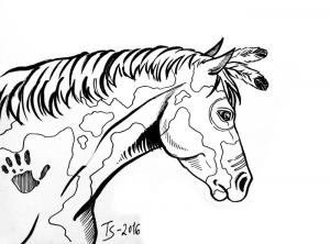 ink-horse