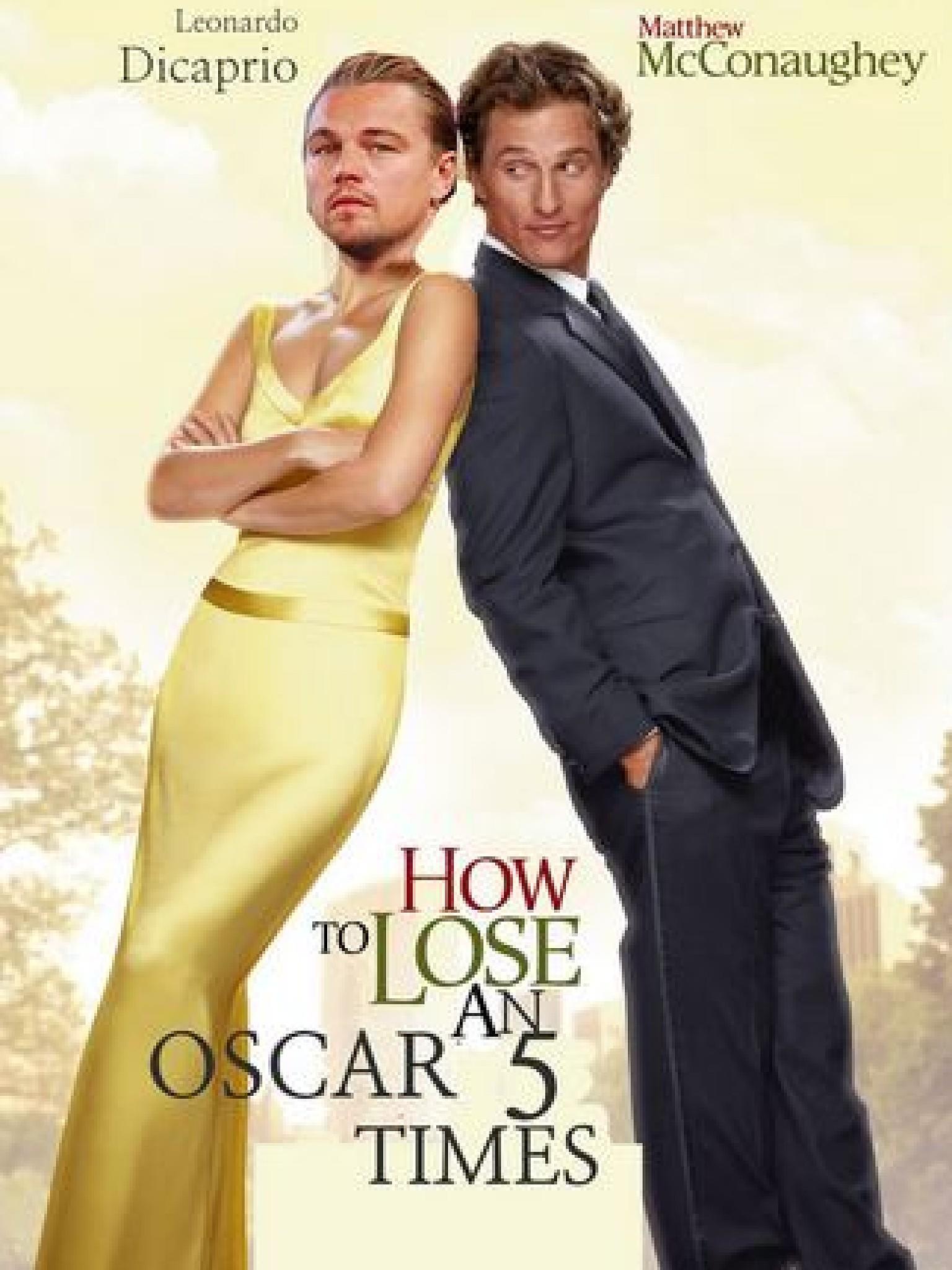 Leonardo DiCaprio und der OscarFluch Die lustigsten Foto