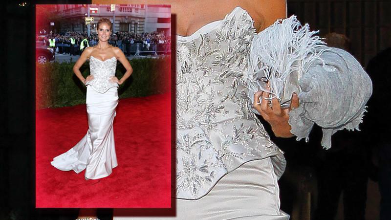 MetGala 2013 Heidi Klum so schn wie eine Braut