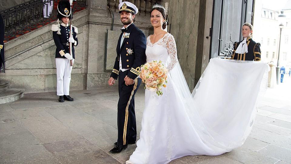 Traumhochzeit in Schweden Prinz Carl Philip und Sofia