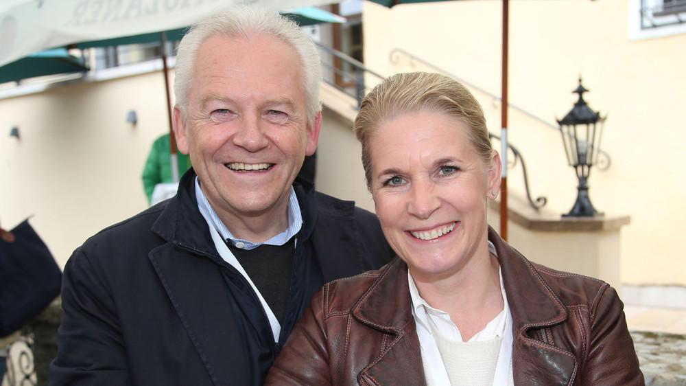 Cornelia Poletto und Rdiger Grube haben sich getraut
