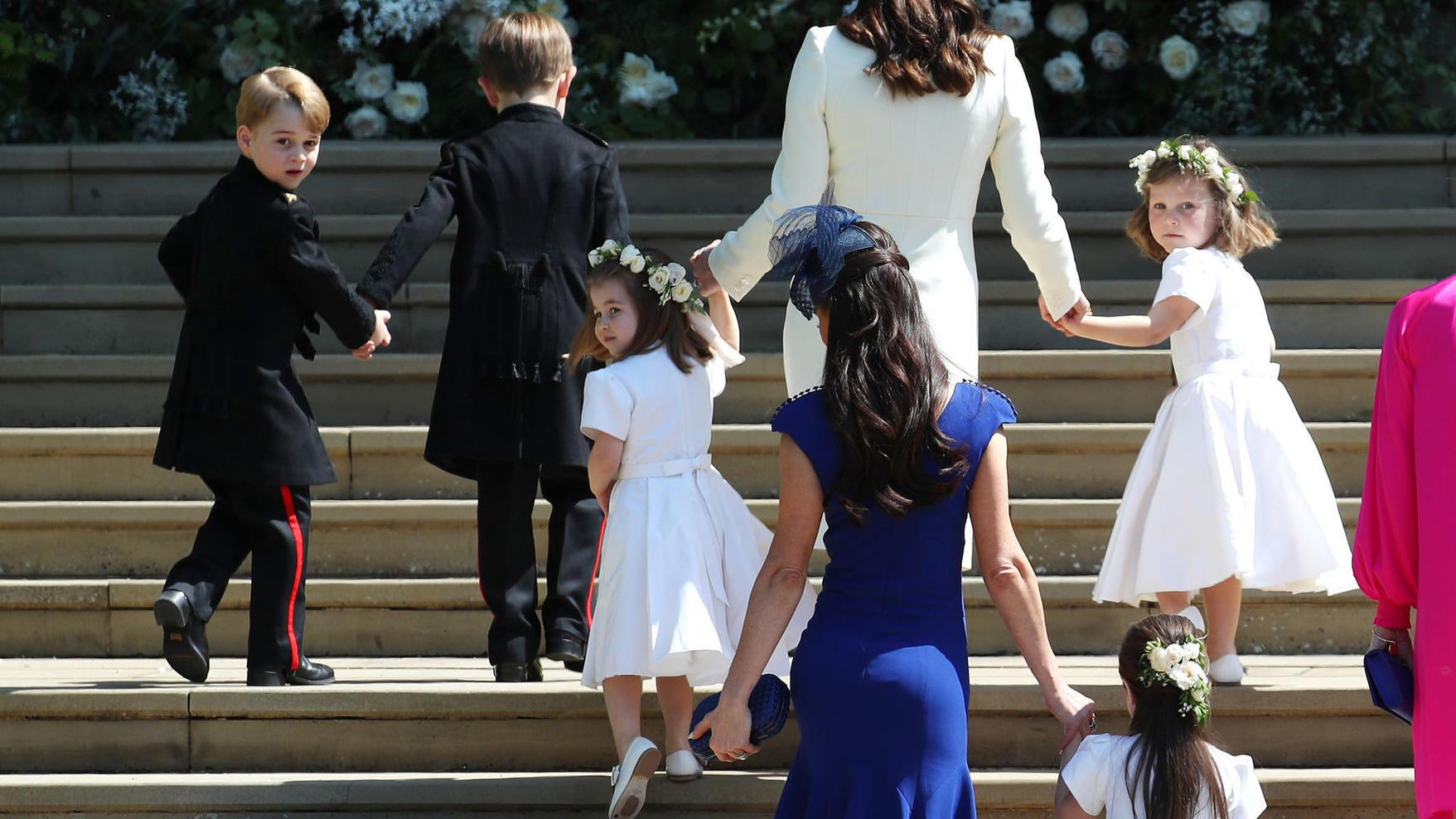 Hochzeit von Herzogin Meghan  Prinz Harry Sind euch diese 13 Details entgangen