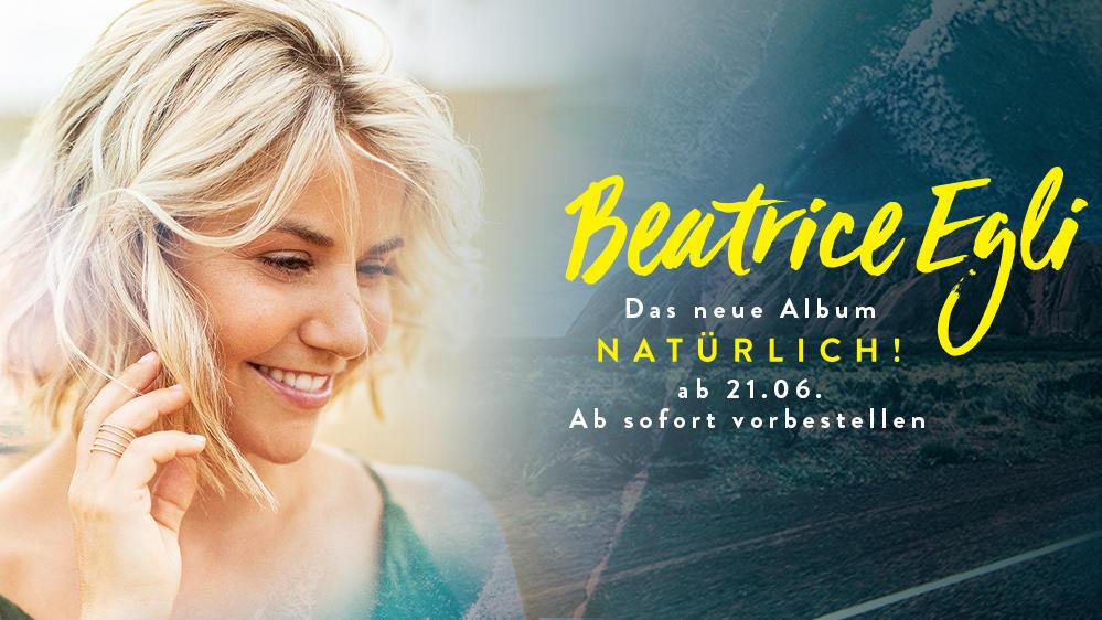 Beatrice Egli mit dem neuen Album Natrlich und der