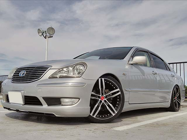 TOYOTA CROWN MAJESTA +  SHALLEN XF-55 monoblock - CROWN MAJESTA XF-55 mono