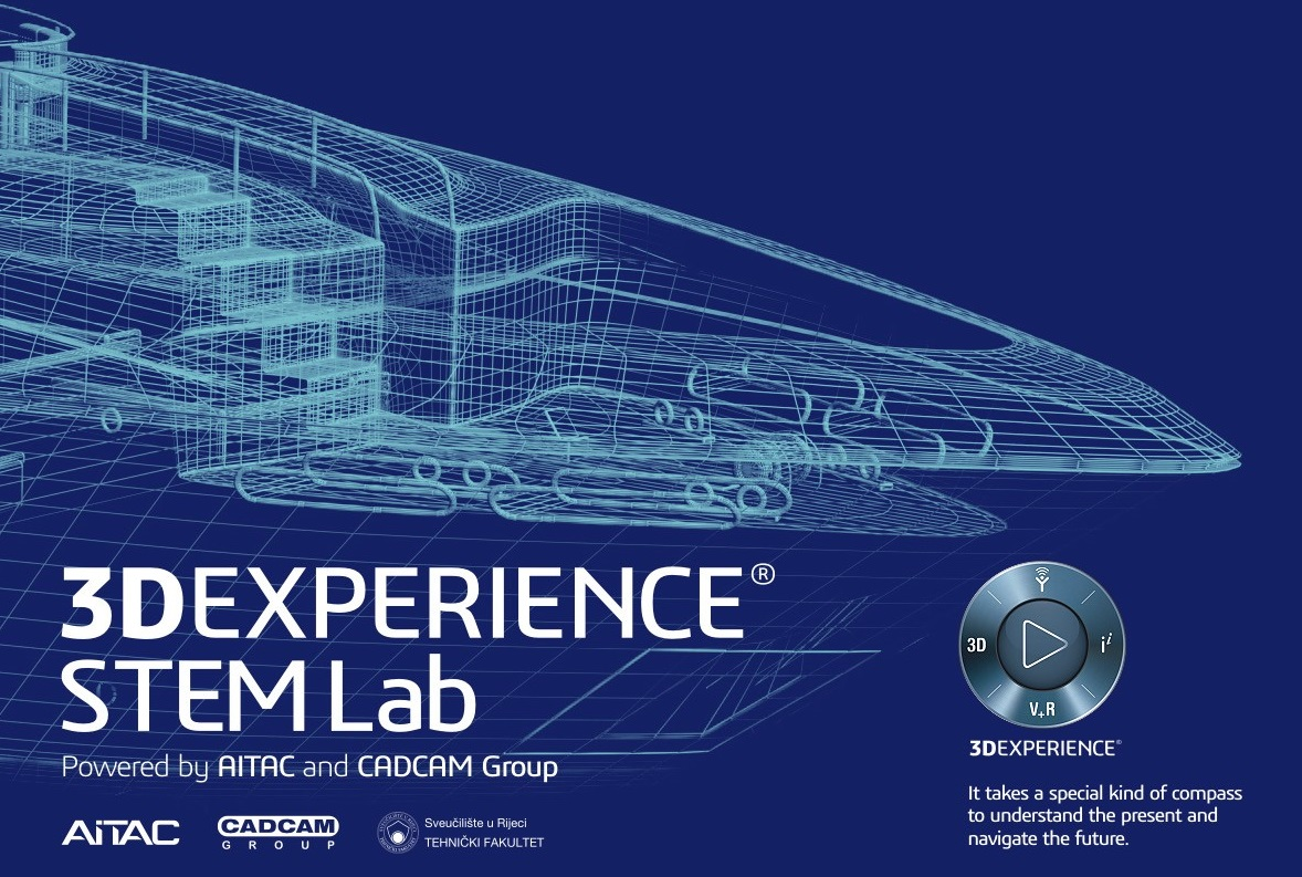 hight resolution of faculty of engineering in rijeka opens 3dexperience stem lab