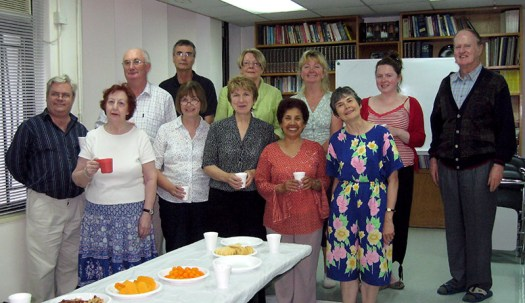 A gathering of Aitece teachers