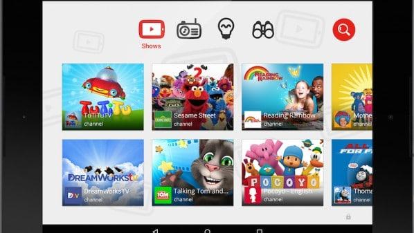 جوجل تطلق يوتيوب للأطفال YouTube Kids