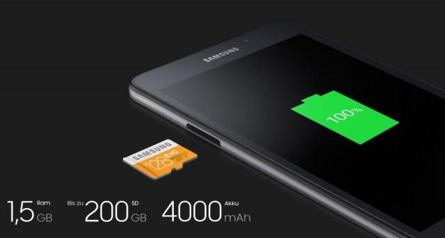 سامسونج تطلق إصدار 2016 من حاسبها اللوحي Galaxy Tab A