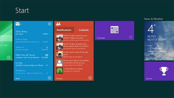 مايكروسوفت تعتزم إضافة Live Tiles تفاعلية لنظام ويندوز 10