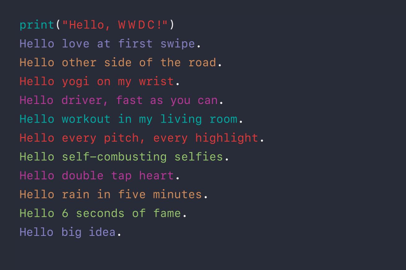 مؤتمر آبل للمطورين WWDC 2016