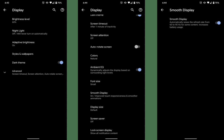 كيفية تغيير دقة شاشة هاتفك ومعدل التحديث لإطالة عمر البطارية