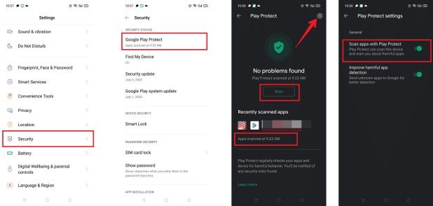3 إعدادات يجب ضبطها في هاتف أندرويد لحماية بياناتك