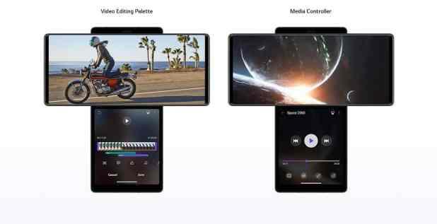 4 طرق يغير بها هاتف LG Wing الجديد كيفية استخدام الهواتف