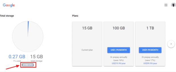 3 طرق تساعدك في معرفة سعة التخزين المجانية المتبقية في حساب جوجل