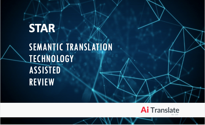 Semantic Translation Tech-Assisted Review