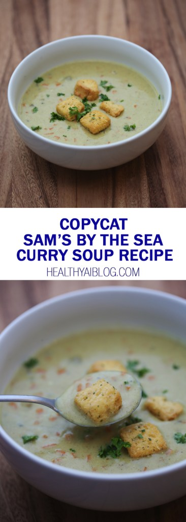 sams by the sea curry soup- healthy ai blog