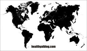world map template- healthy ai blog