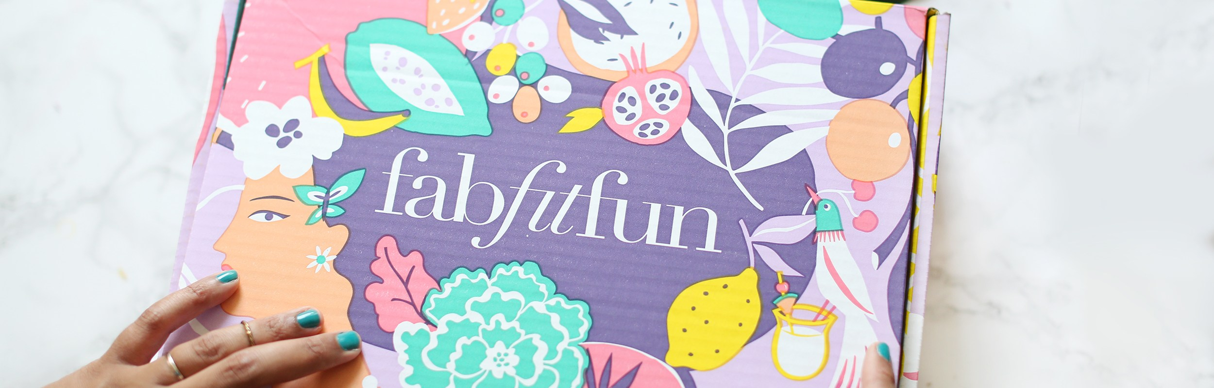 Review of the Amazing FabFitFun Summer Box -healthyaiblog.com