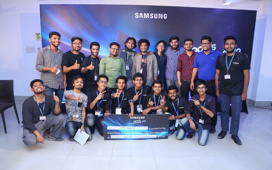 "AIUB Computer Club organizes ""Samsung eSport Championship 2019"""