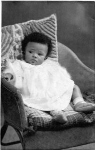 Ann as a baby, 1951