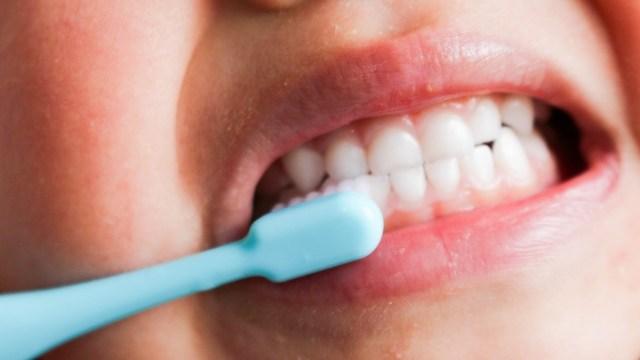 歯磨きが嫌いな子供