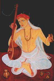 Tyagaraja (1767-1847) as visualised by S. Rajam
