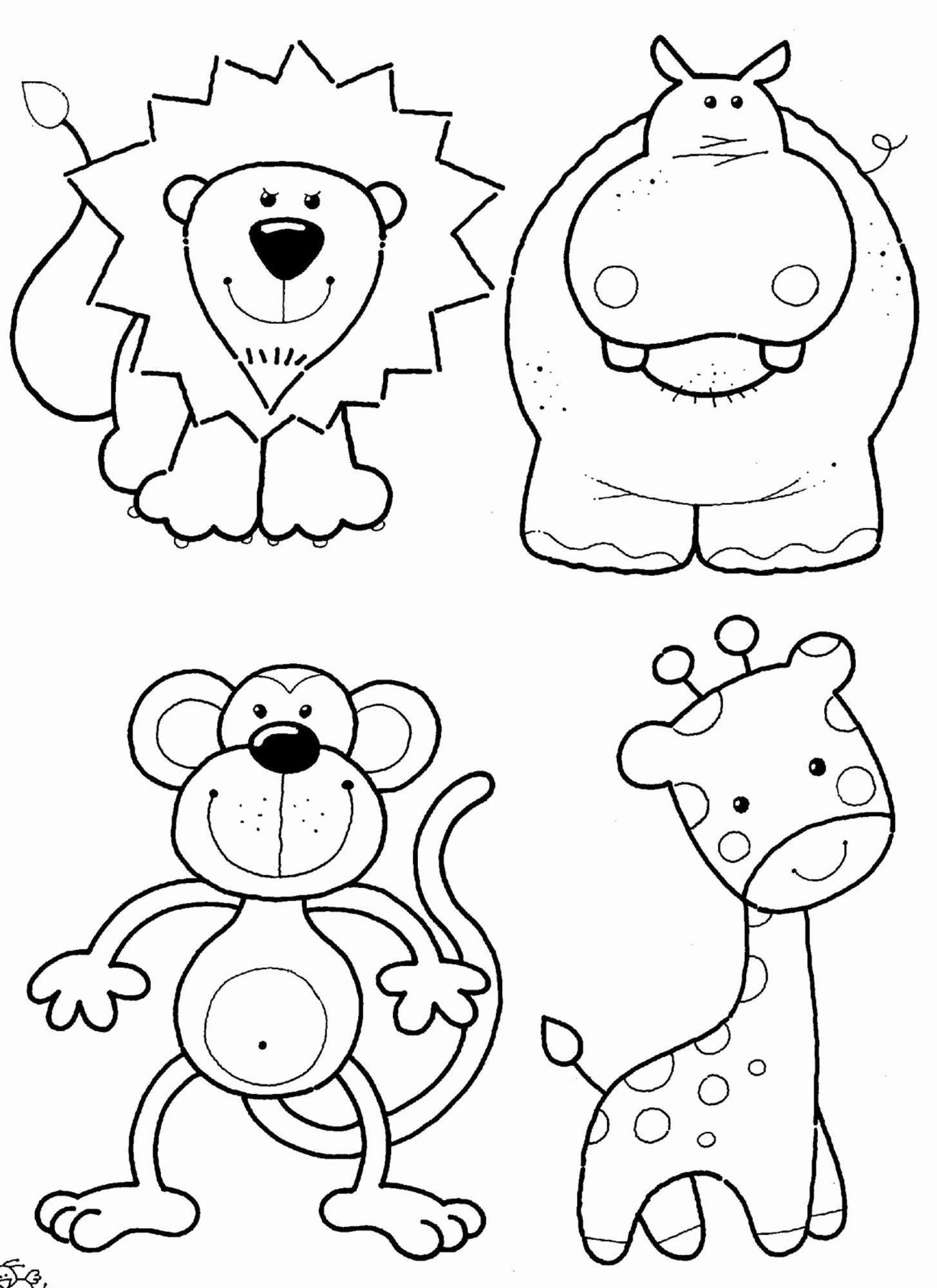 Animal Worksheets For Preschoolers