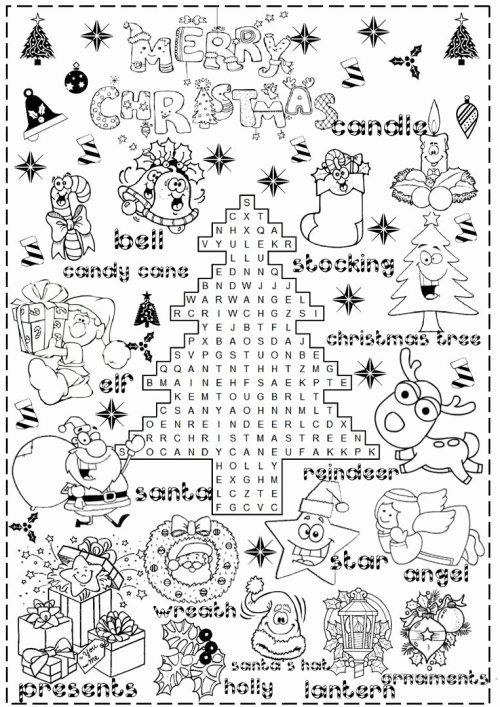 small resolution of Christmas Worksheets for Preschoolers Unique Christmas Worksheet Booklet  Kindergarten First Grade – Printable Worksheets for Kids
