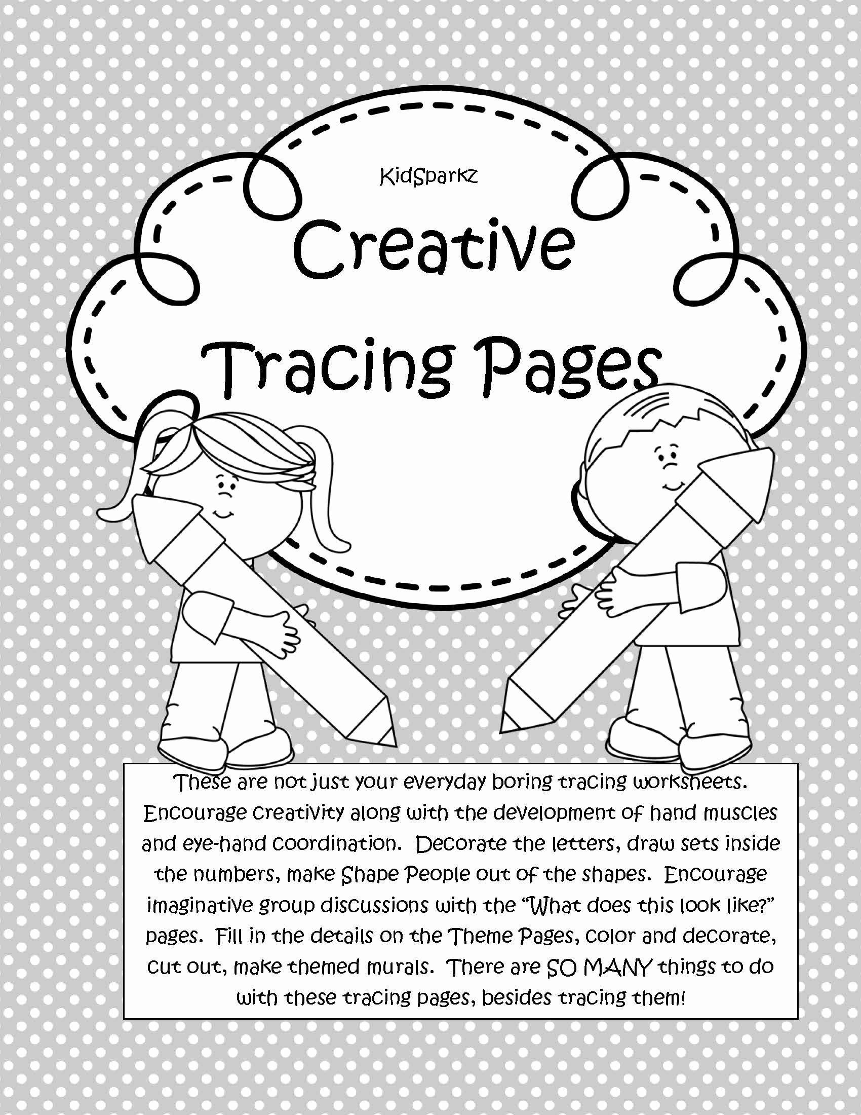 Eye Hand Coordination Worksheets For Preschoolers