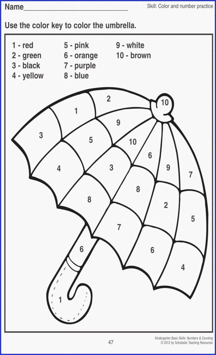 medium resolution of Learning Colors Worksheets for Preschoolers Inspirational Write Numbers  Worksheet for Kids In Kindergarten Learning – Printable Worksheets for Kids
