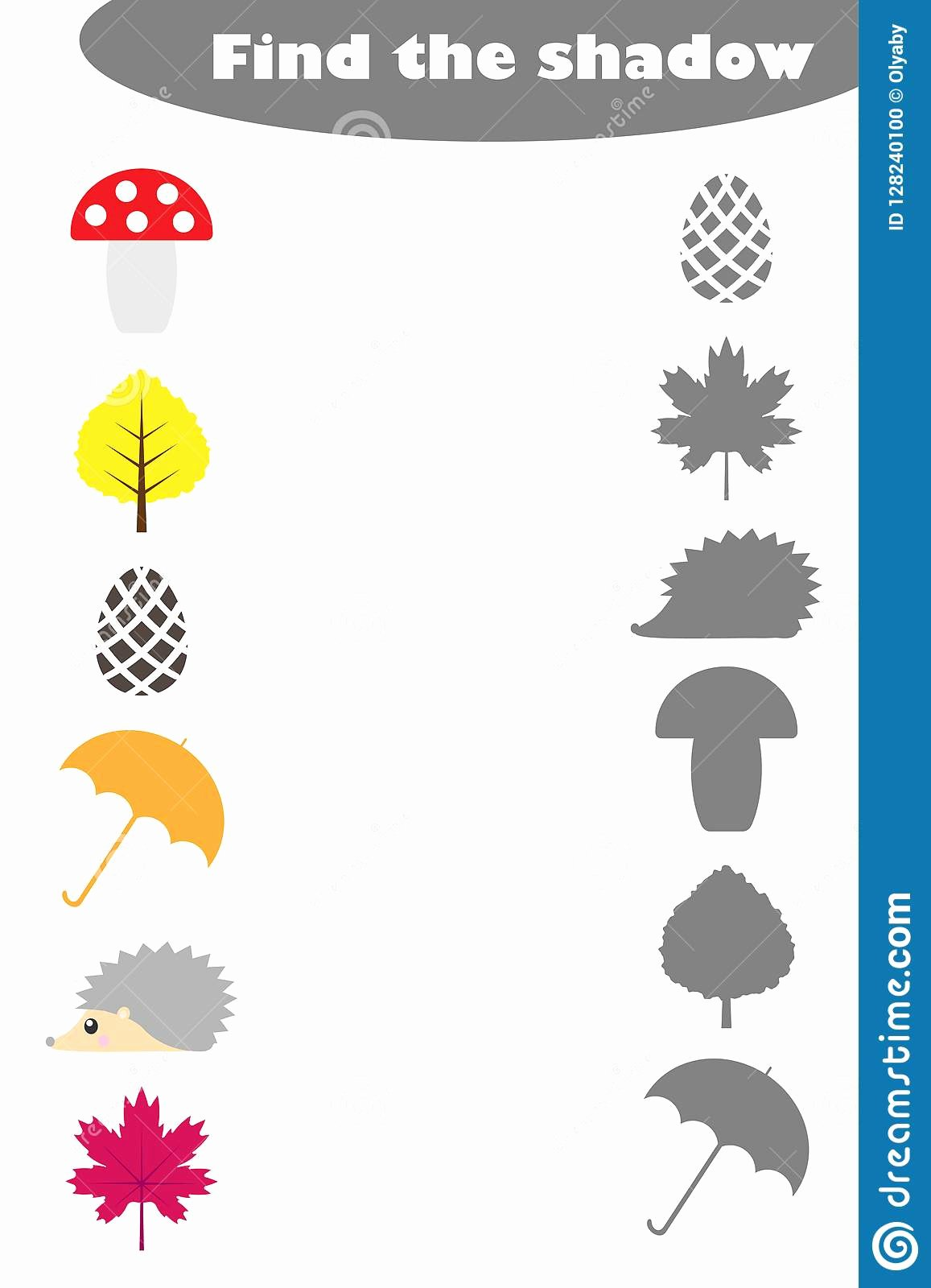 Matching Pictures Worksheets For Preschoolers Best Of
