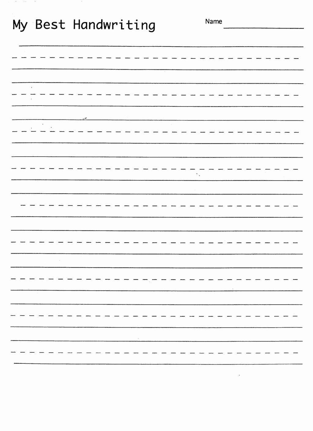Name Writing Worksheets For Preschoolers