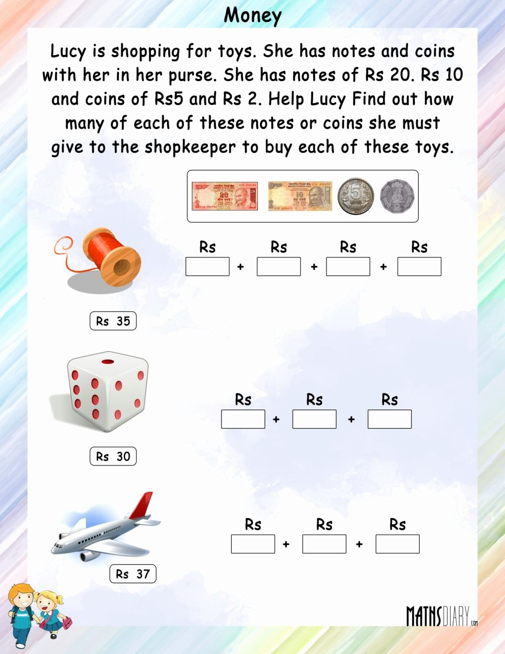 Philippine Money Worksheets For Preschoolers