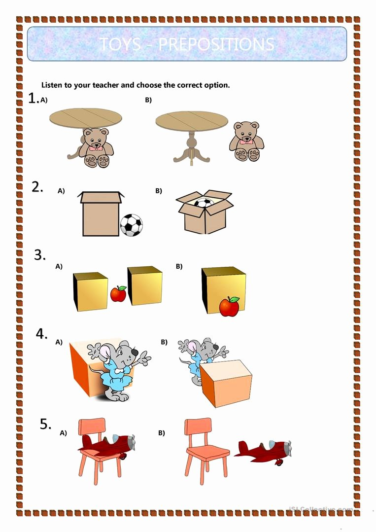 medium resolution of Preposition Worksheets for Preschoolers New Prepositions Worksheet Grade 7  – Printable Worksheets for Kids