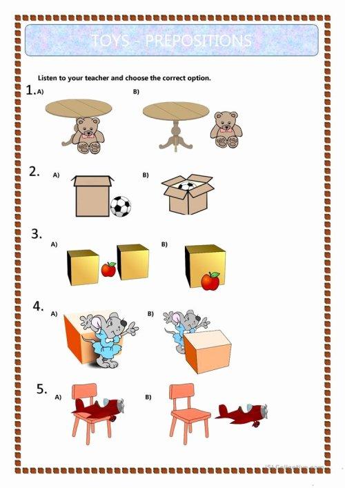 small resolution of Preposition Worksheets for Preschoolers New Prepositions Worksheet Grade 7  – Printable Worksheets for Kids