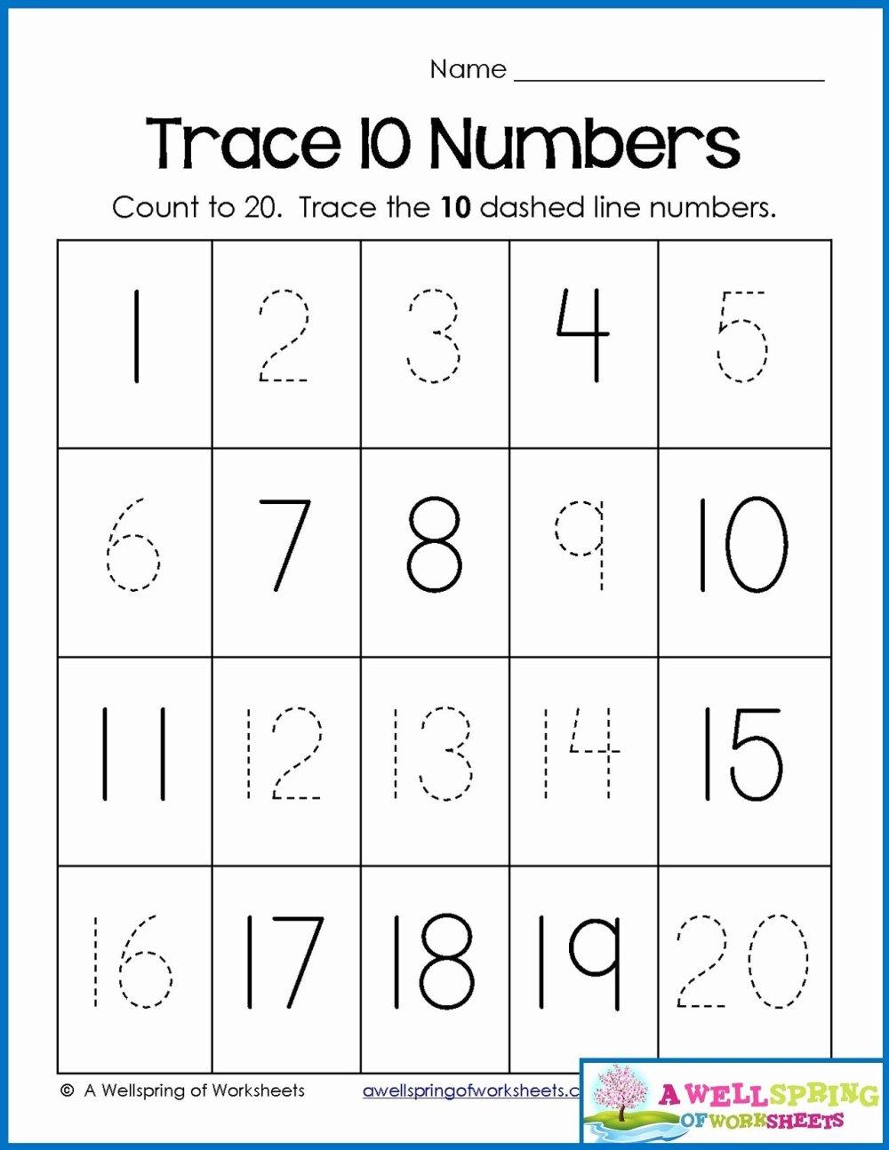 medium resolution of Printable Numbers Worksheets for Preschoolers Fresh Math Worksheet 45  Awesome Number Worksheets for Preschool – Printable Worksheets for Kids