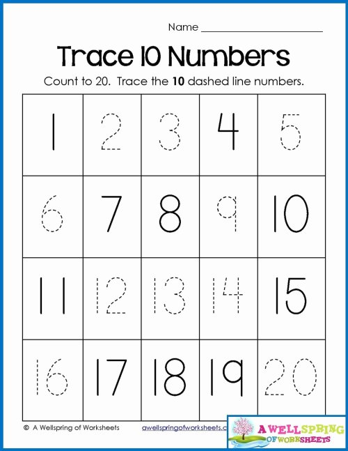 small resolution of Printable Numbers Worksheets for Preschoolers Fresh Math Worksheet 45  Awesome Number Worksheets for Preschool – Printable Worksheets for Kids