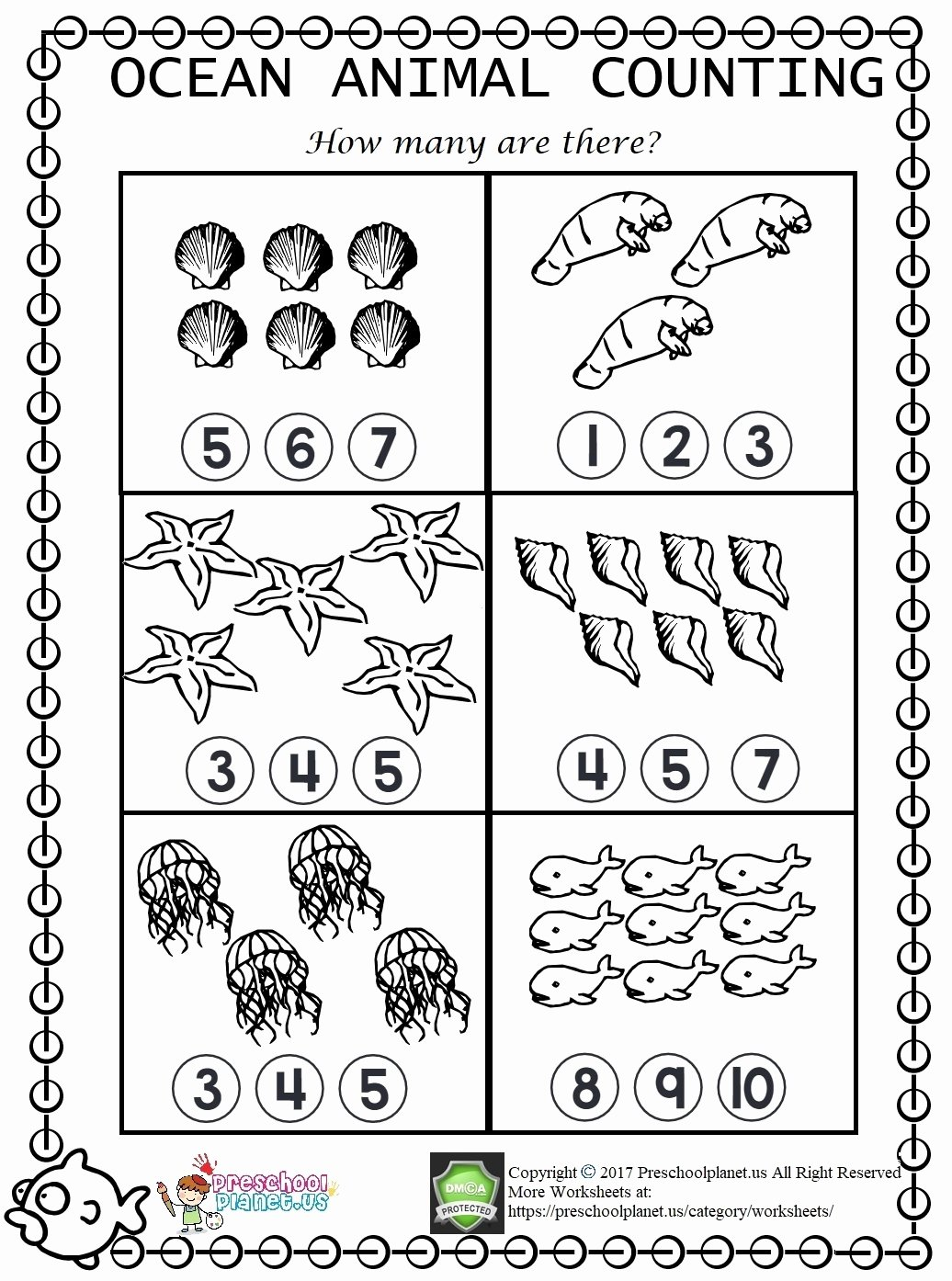hight resolution of Sea Animals Worksheets for Preschoolers New Ocean Animals Tracing Worksheets  Itsybitsyfun – Printable Worksheets for Kids