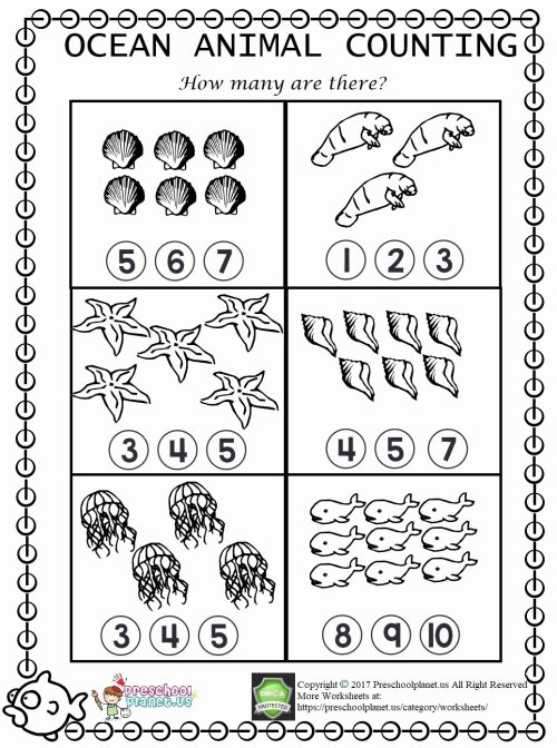 small resolution of Sea Animals Worksheets for Preschoolers New Ocean Animals Tracing Worksheets  Itsybitsyfun – Printable Worksheets for Kids