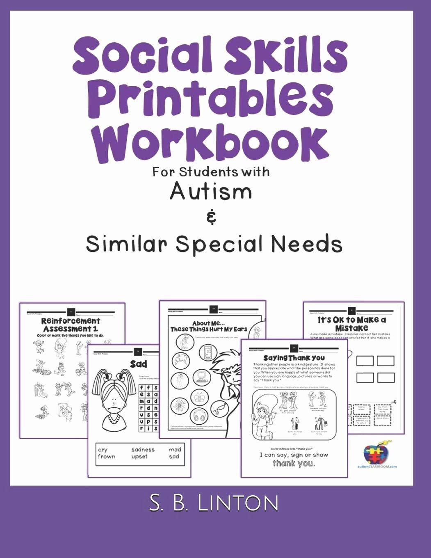 Social Skills Worksheets For Preschoolers