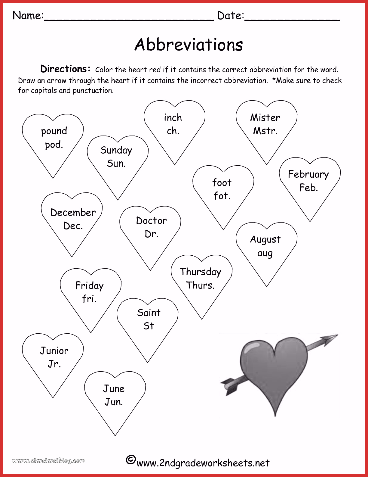 Valentine Day Worksheets For Preschoolers